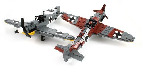 Lego Messerschmitt Bf 109K