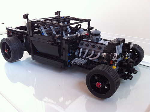 Lego Technic Hot Rod