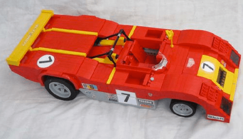 Lego Ferrari 312