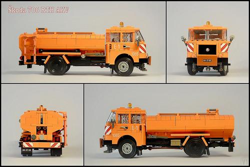 Lego Skoda 706 Truck