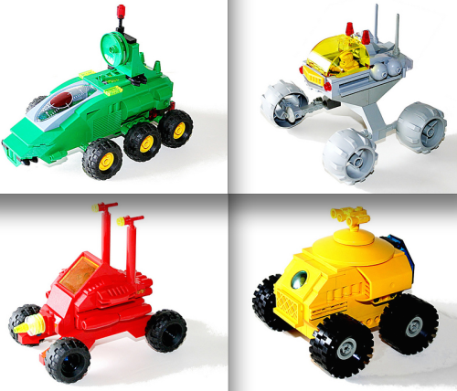 Lego FebRovery Rovers