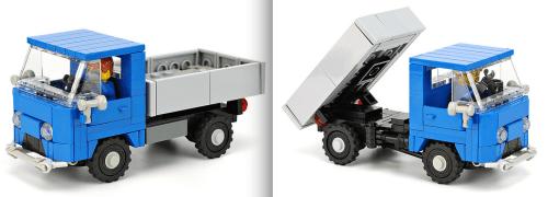 Lego Tipper Truck