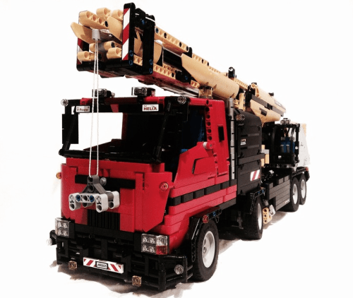 Lego Power Functions Crane
