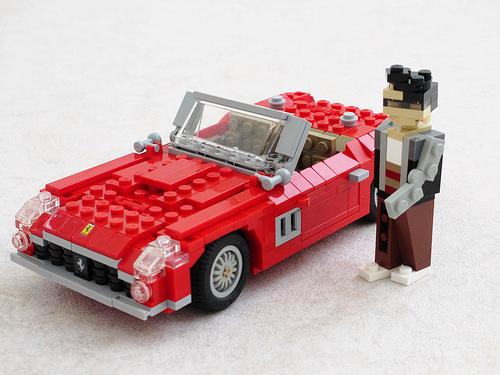 Lego Ferrari 250