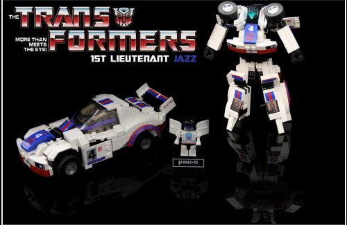 Lego Transformers Jazz