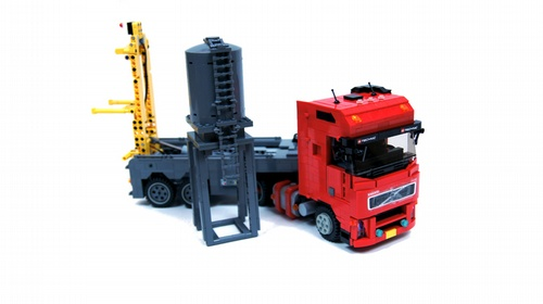 Lego Volvo Silo Placer
