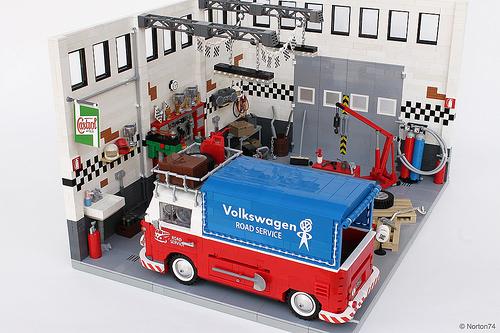 Lego Volkswagen Transporter Pick-Up