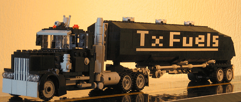 Lego Fuel Tanker