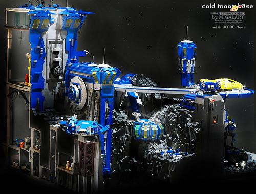 Lego Moon Base
