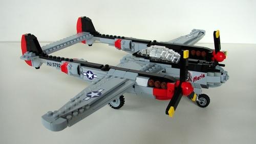 Lego Lockheed P-38 Lightning