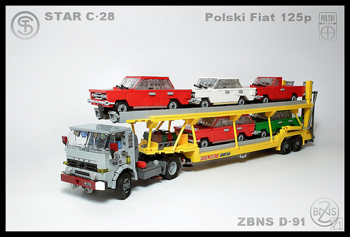Lego Star Car Transporter