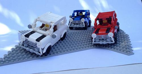 Lego The Italian Job
