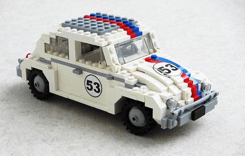 Lego Herbie Beetle