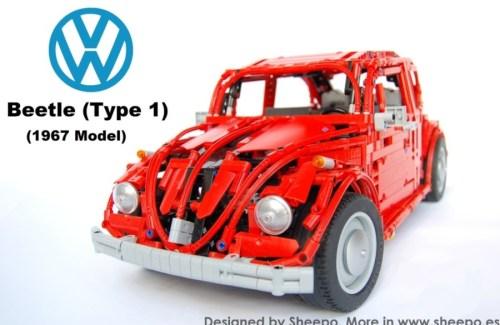 Lego Volkswagen Beetle Sheepo