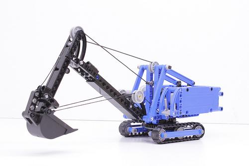 Lego Bucket Excavator