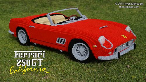 Lego Ferrari 250GT California