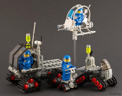 Lego Classic Space Tetra Trio