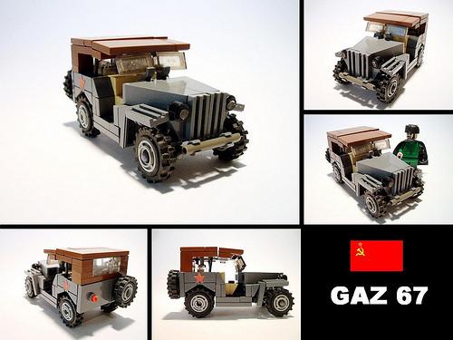 Lego GAZ 67