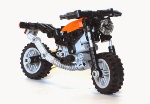 Lego Technic Mini Motorbike