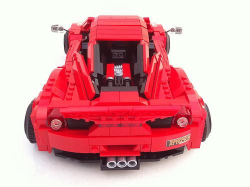 Lego Liberty Walk Ferrari 458 Italia