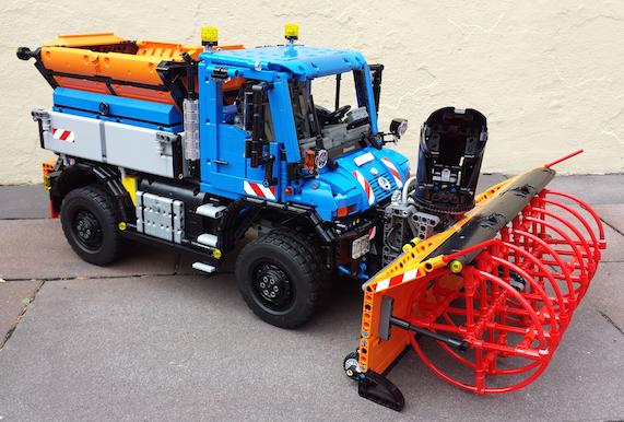 Lego Technic Unimog 8110
