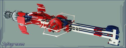 Lego SHIPtember GARC Spacecraft