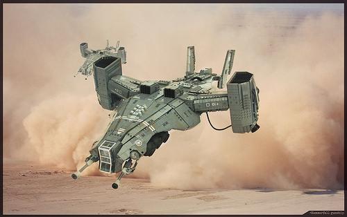 Lego Gunship