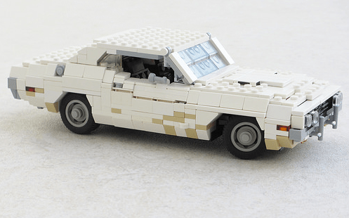 Lego Vanishing Point Challenger
