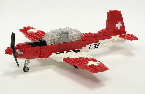 Lego Pilatus PC-7 Aircraft