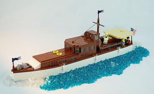 Lego Motor Yacht