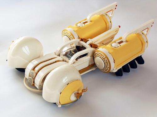 Lego Sci-Fi Art-Deco Car