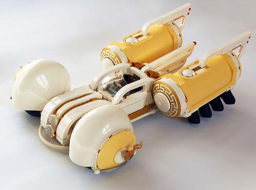 Lego Sci-Fi Art-Deco Car