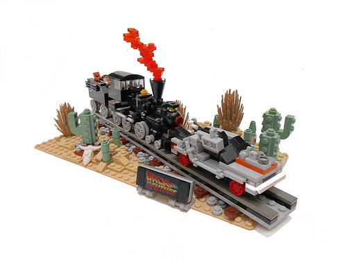 Lego Back to the Future Part III