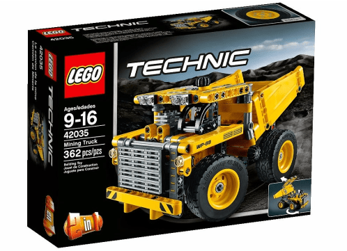 New LEGO Technic 2015 42035 Mining Truck
