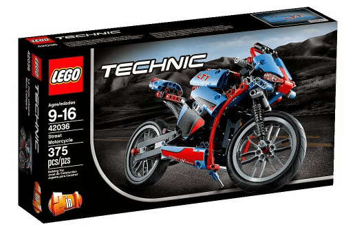 New Lego Technic 2015 42036 Street Motorcycle