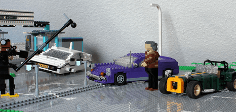 Lego James May TopGear