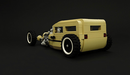 Lego Model Team Hot Rod