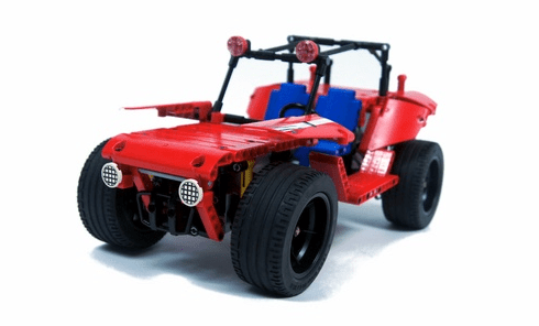 Lego Dune Buggy 3D Printed Parts