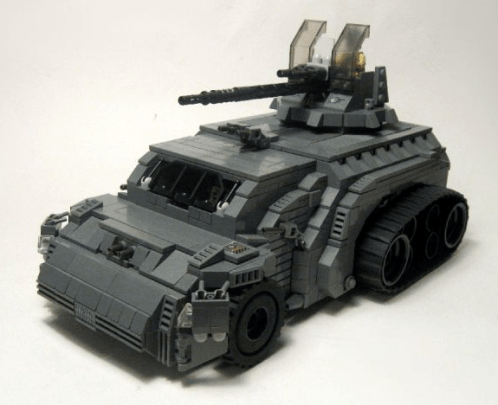 Lego Half Track Tank