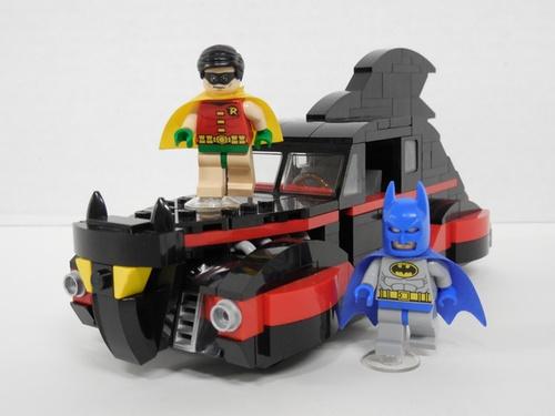 Lego Batman and Robin Batmobile