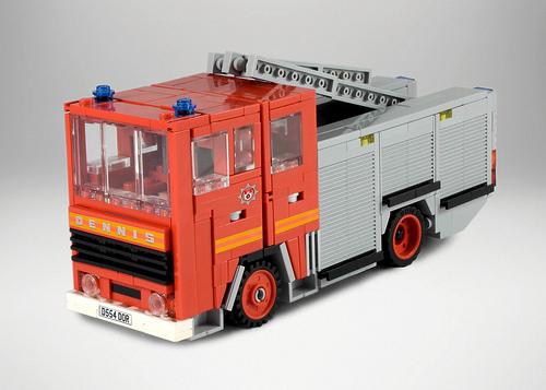 Lego Dennis Fire Engine