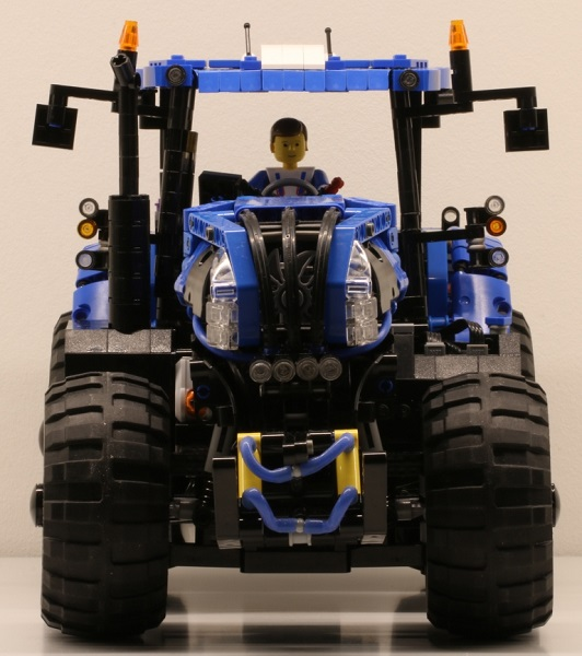 Lego New Holland Tractor