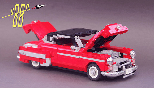 Lego Oldsmobile Rocket Coupe