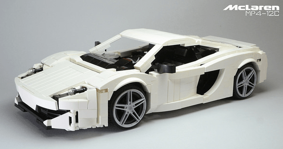 Lego McLaren MP4-12C