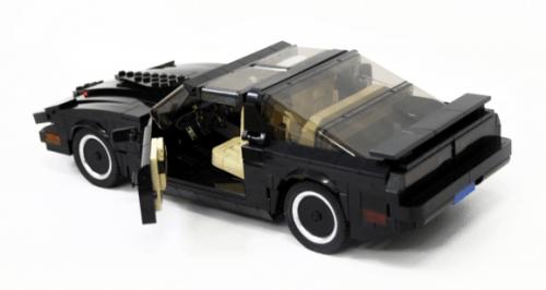 Lego Pontiac Trans-Am Knight Rider