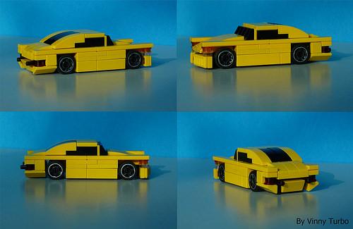 Lego 5-Wide Car