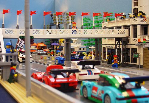 Lego Race Track
