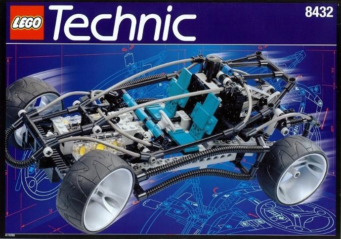 Lego Technic 8432 Review