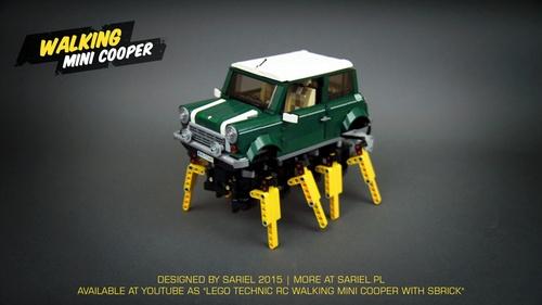 Lego Mini Cooper Arachnid