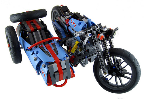 Lego Motorcycle and Sidecar